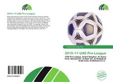 Bookcover of 2010–11 UAE Pro-League