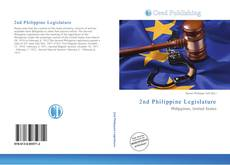 Capa do livro de 2nd Philippine Legislature