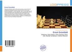 Buchcover von Ernst Grünfeld