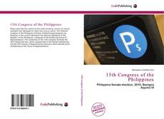 15th Congress of the Philippines的封面