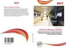 Capa do livro de Amherst Railway Station