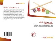 Bookcover of Christian Vander (Musician)