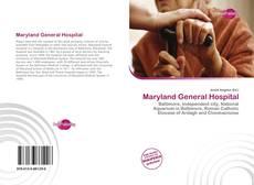 Bookcover of Maryland General Hospital