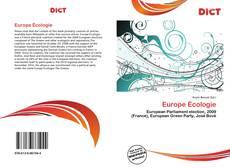 Couverture de Europe Écologie