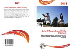Bookcover of John O'Donoghue (1990s Pitcher)