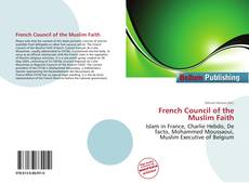 Bookcover of French Council of the Muslim Faith