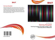 Bookcover of Carney Hospital