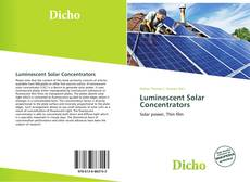 Обложка Luminescent Solar Concentrators
