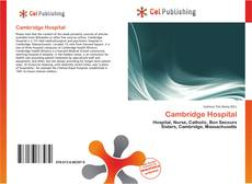 Capa do livro de Cambridge Hospital