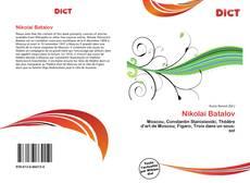 Buchcover von Nikolaï Batalov