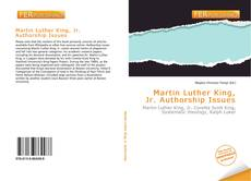 Portada del libro de Martin Luther King, Jr. Authorship Issues