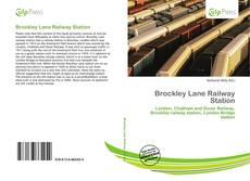 Bookcover of Brockley Lane Railway Station