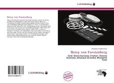 Couverture de Betsy von Furstenberg