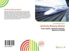 Portada del libro de Ainderby Railway Station