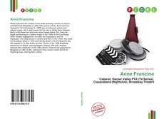 Обложка Anne Francine