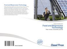 Buchcover von Food and Bioprocess Technology