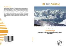 Bookcover of Food Storage