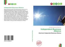 Bookcover of Independent Business Alliance