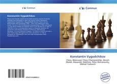Couverture de Konstantin Vygodchikov