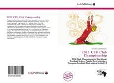 Couverture de 2011 CFU Club Championship
