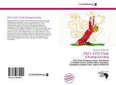 Обложка 2011 CFU Club Championship