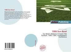 Buchcover von 1986 Sun Bowl