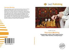 Henrique Mecking kitap kapağı