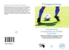 Bookcover of Campeonato de Fútbol Femenino