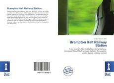 Brampton Halt Railway Station kitap kapağı