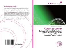 Culture du Vatican kitap kapağı