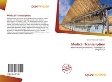 Copertina di Medical Transcription