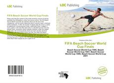 FIFA Beach Soccer World Cup Finals的封面