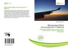 Couverture de Mississippi State University XV-11 Marvel