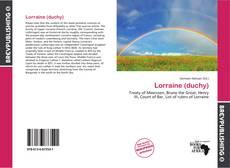 Обложка Lorraine (duchy)