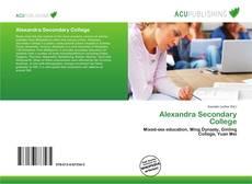 Portada del libro de Alexandra Secondary College
