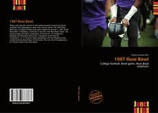 Portada del libro de 1987 Rose Bowl