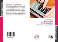 Bookcover of Demetrios Christodoulou