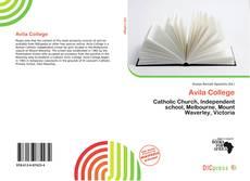 Capa do livro de Avila College