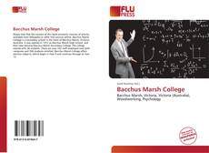 Bookcover of Bacchus Marsh College