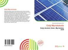 Bookcover of Cetyl Myristoleate