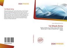 Capa do livro de 1st Shock Army