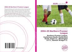 Bookcover of 2004–05 Northern Premier League
