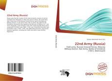 Capa do livro de 22nd Army (Russia)