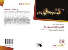 Bookcover of Antipope Callixtus III