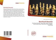 Portada del libro de Bernhard Horwitz
