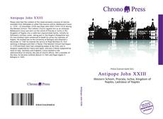 Antipope John XXIII的封面