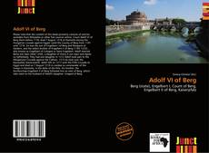 Buchcover von Adolf VI of Berg