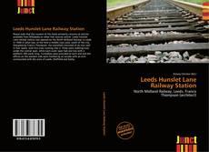 Capa do livro de Leeds Hunslet Lane Railway Station