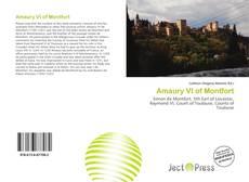 Bookcover of Amaury VI of Montfort