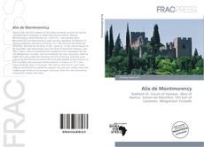 Bookcover of Alix de Montmorency